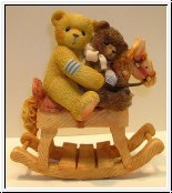 Homer and Friend von Cherished Teddies 8 cm