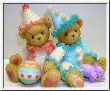 Palmer and Charlene von Cherished Teddies 8 cm