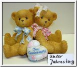 You Grow More Dear With Each Passing Year von Cherished Teddies 7 cm