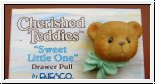 Sweet little one von Cherished Teddies 4,5 x 3,5 cm