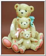 Theadore, Samantha  and Tyler, Cherished Teddies 22 cm