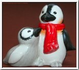 Mamas Liebling, Pinguin mit Kind 4 cm