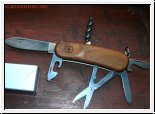 Evolution Wood 14 Victorinox Schweizer Offiziersmesser 8,6 cm