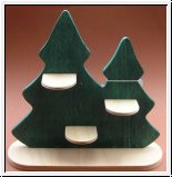 Holz Baum Display 23 x 24 x 8 cm
