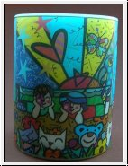 Goebel Kerze Britto, In the Park 11,5 cm