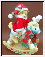 Tis The Season For Deer Friends - 2 teilig Cherished Teddies 32 cm