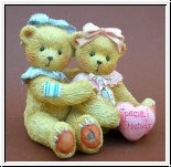Elizabeth and Ashley Spezial Freunde Cherished Teddies 8 cm