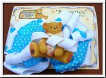 Hair Accessories, Haarspange Blau Cherished Teddies 10 cm