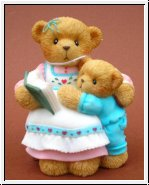 Katrina and Forrest, Mutter & Kind Cherished Teddies 7,5 cm