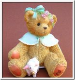 Heather mit Schaf Cherished Teddies 7,5 cm