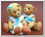 Süßes Päärchen Heidi and David Cherished Teddies 8 x 9,5 cm