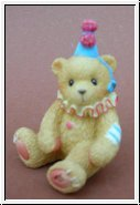 Miniteddy Clown Cherished Teddies 5 cm