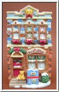 Post Office, Weihnachtshaus Cherished Teddies 13,5 cm