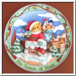 Season of Magic, Wandteller Cherished Teddies 16 cm