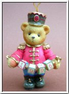 Nußknacker Toy Soldier Anhänger 1996 Cherished Teddies 7,5 cm