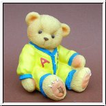 Quitscheteddy Toybox Gelb Teddies Cherished Teddies 8 cm