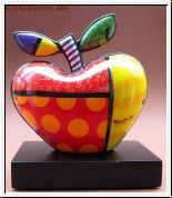BRITTO Goebel Porzellan Apfel BIG APPLE 16 cm