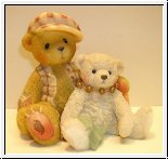 Bailay and Friend von Cherished Teddies 7,5 cm